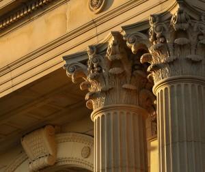 SCONUL Corinthian pillar