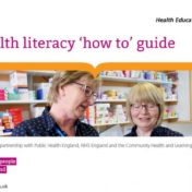New health literacy toolkit